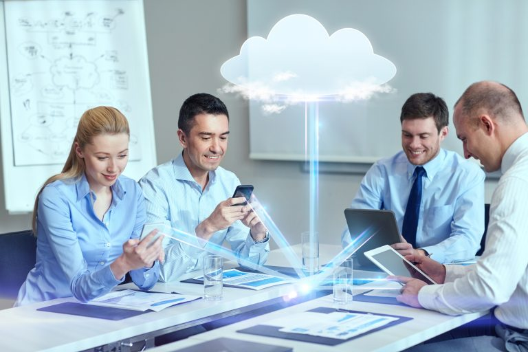 bigstock business people cloud comput